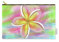 Plumeria Paradise Carry-all Pouch by Dani Abbott