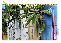 Plumeria Surf Boards Carry-all Pouch