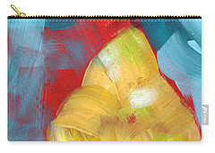 Plump Pear- Art By Linda Woods Carry-all Pouch