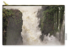 Carry-all Pouch featuring the photograph Plunge by Alex Lapidus
