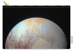 Carry-all Pouch featuring the photograph Pluto And Charon by Nicholas Burningham