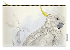 Plyctolophus Galeritus. Greater Sulphur-crested Cockatoo. Carry-all Pouch