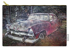 Carry-all Pouch featuring the photograph Plymouth Belvedere by Debra and Dave Vanderlaan