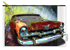 Plymouth From The Past Carry-all Pouch