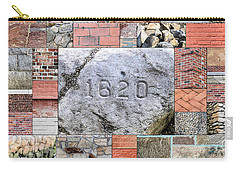 Plymouth Rocks And Bricks Carry-all Pouch