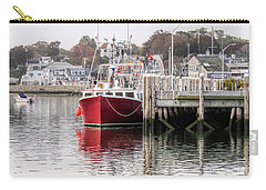 Plymouth Town Harbor  Carry-all Pouch