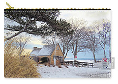 Plymouth Waterfront In Winter  Carry-all Pouch