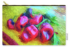Poblano Chiles Carry-all Pouch by Gerhardt Isringhaus