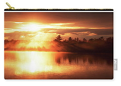 Pocono Mountains, Pennsylvania, Sunset Carry-all Pouch by A Gurmankin