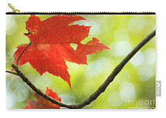 Poesie D'automne  Carry-all Pouch by Aimelle