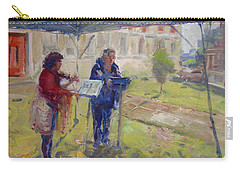 Poetry And Violin Carry-all Pouch