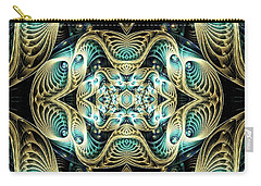 Poetry In Motion Carry-all Pouch by Lea Wiggins