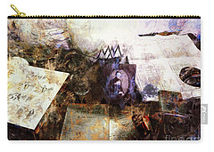 Carry-all Pouch featuring the photograph Poets In Picardy by Claire Bull