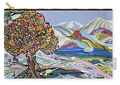 Poet's Lake Carry-all Pouch by Erika Pochybova