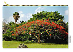 Poinciana Carry-all Pouch by Amar Sheow