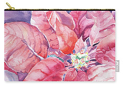 Poinsettia Glory Carry-all Pouch