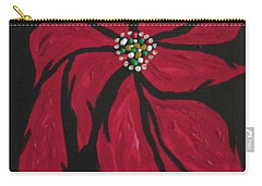 Poinsettia - The Season Carry-all Pouch