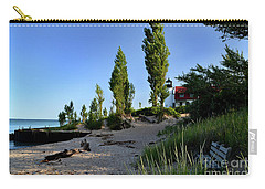 Point Betsie Lighthouse Bench Carry-all Pouch