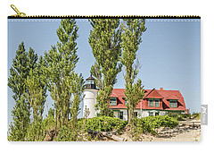 Carry-all Pouch featuring the photograph Point Betsie Lighthouse by Sue Smith