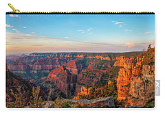 Point Imperial Sunrise Panorama II Carry-all Pouch by David Cote