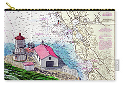 Point Reyes Light Station Carry-all Pouch by Mike Robles