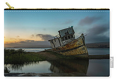 Point Reyes Shipwreck Sunset Carry-all Pouch