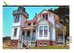 Carry-all Pouch featuring the photograph Point San Luis Lighthouse by Floyd Snyder