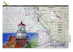 Point Sur Light Station Carry-all Pouch by Mike Robles