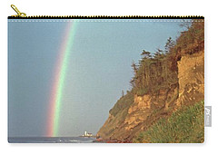 Carry-all Pouch featuring the photograph Point Wilson by Laurie Stewart