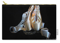 Pointe Shoes And Dog Tags2 Carry-all Pouch