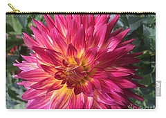 Pointed Dahlia Carry-all Pouch