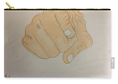 Pointing Finger Carry-all Pouch