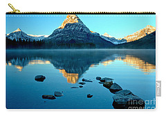 Carry-all Pouch featuring the photograph Pointing To Sinopah by Adam Jewell