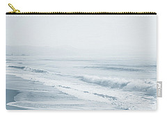 Carry-all Pouch featuring the photograph Pointless Nostalgia. Series Ethereal Blue  by Jenny Rainbow