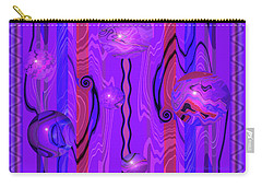 Points Of Light - Abstract Carry-all Pouch