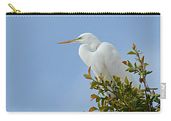 Carry-all Pouch featuring the photograph Poised 2 by Fraida Gutovich