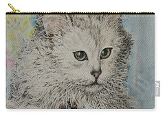 Poised Cat Carry-all Pouch