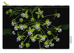 Poke Milkweed Carry-all Pouch by Barbara Bowen