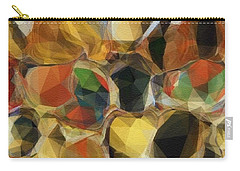 Carry-all Pouch featuring the photograph Crazy Quilt by Kathie Chicoine