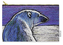 Polar Bear Backside Carry-all Pouch