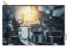 Carry-all Pouch featuring the photograph Polar Express by Darren White