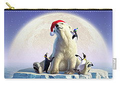Polar Season Greetings Carry-all Pouch