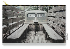 Polaroid Image-old Truck Bench Seats Carry-all Pouch