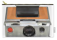 Polaroid Sx70 On White Carry-all Pouch