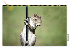 Carry-all Pouch featuring the photograph Pole Dancer 283 by Ericamaxine Price