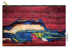 Police Car Abstract Carry-all Pouch