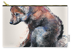 Polish Wolf Pup Carry-all Pouch