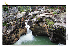 Carry-all Pouch featuring the photograph Polished Rock by David Chandler