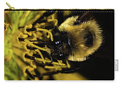 Carry-all Pouch featuring the photograph Pollen Collector 2 by Jay Stockhaus