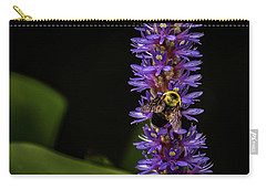 Carry-all Pouch featuring the photograph Pollen Collector 3 by Jay Stockhaus